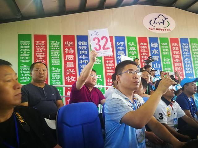 首届全国种公牛拍卖会在内蒙古乌拉盖管理区开幕