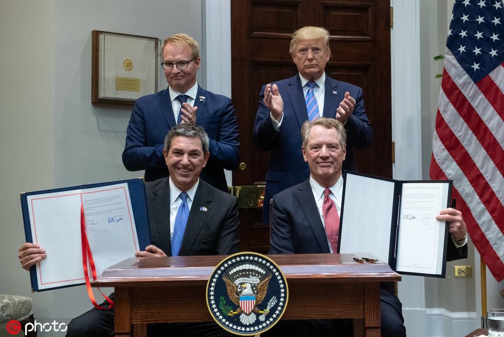 特朗普宣布与欧盟达成协议,增加美国牛肉出口